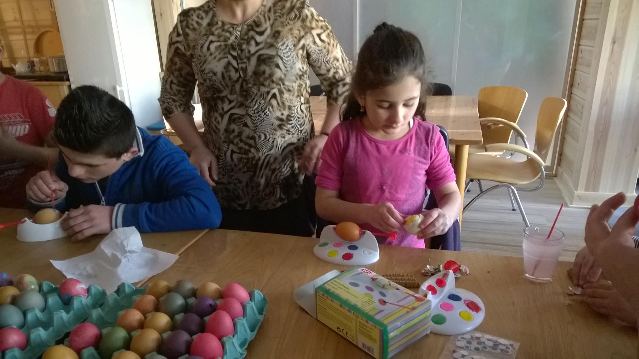 Eieren schilderen
